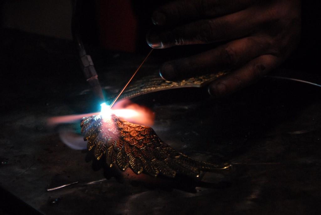 Gallo Lavorazione artigianale lampadari